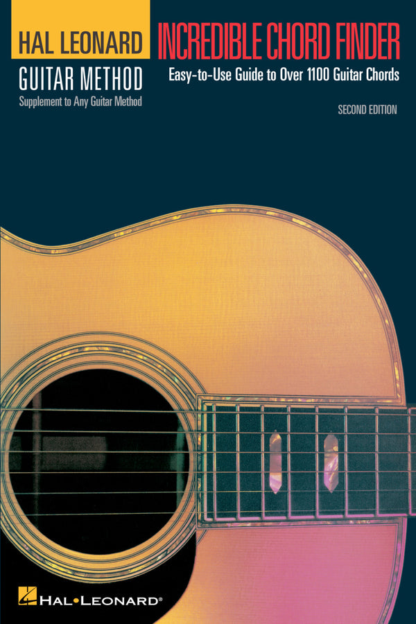 INCREDIBLE CHORD FINDER – 6″ X 9″ EDITION Hal Leonard Guitar Method Supplement