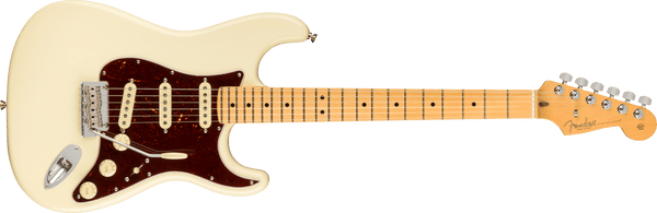 Fender American Professional II Stratocaster®, Maple Fingerboard, Olympic White