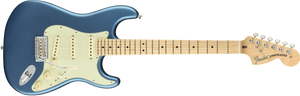 Fender American Performer Stratocaster®, Maple Fingerboard, Satin Lake Placid Blue