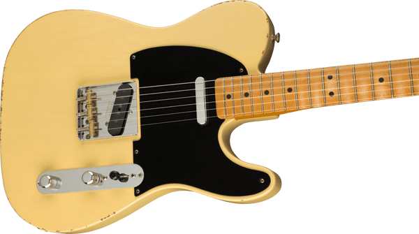 Fender Vintera Road Worn® '50s Telecaster®, Maple Fingerboard, Vintage Blonde