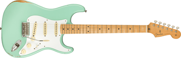 Fender Vintera Road Worn® '50s Stratocaster®, Maple Fingerboard, Surf Green