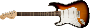 Squier Affinity Series™ Stratocaster®, Left-Handed, Laurel Fingerboard, Brown Sunburst