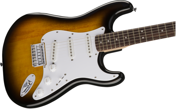 Squier Bullet® Stratocaster® HT, Laurel Fingerboard, Brown Sunburst