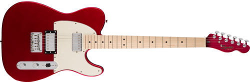 Squier Contemporary Telecaster® HH, Maple Fingerboard, Dark Metallic Red