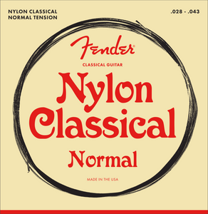 Fender Nylon Classical Guitar Strings Normal Tension