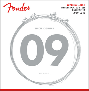 Fender Super Bullets Nickel Plated Steel Electric Guitar Strings