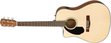 Fender CD-60SCE Left-Hand, Natural, Walnut