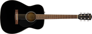 Fender CC-60S Concert Acoustic Guitar Pack, Black