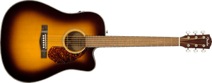 Fender CD-140SCE Dreadnought, Walnut Fingerboard, Sunburst w/case