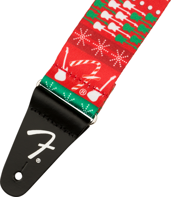 Fender® Ugly Xmas Sweater Strap, Snowman