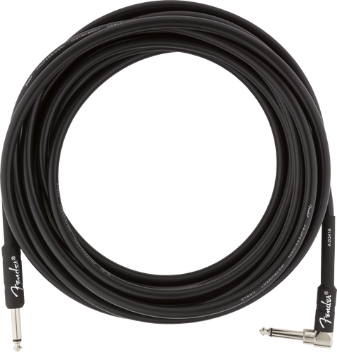 Fender Professional Series Angled Instrument Cable 18.6ft