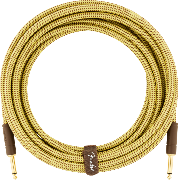 Fender Deluxe Series Instrument Cable, Straight/Straight, Tweed