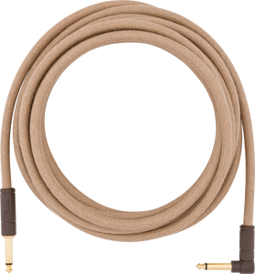 Fender 18.6' Angled Festival Instrument Cable, Pure Hemp