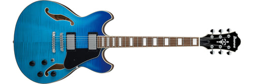 Ibanez Artcore AS73FM-AZG Azure Blue Gradation