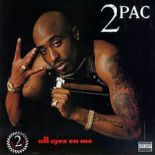 VINYL 2PAC ALL EYEZ ON ME