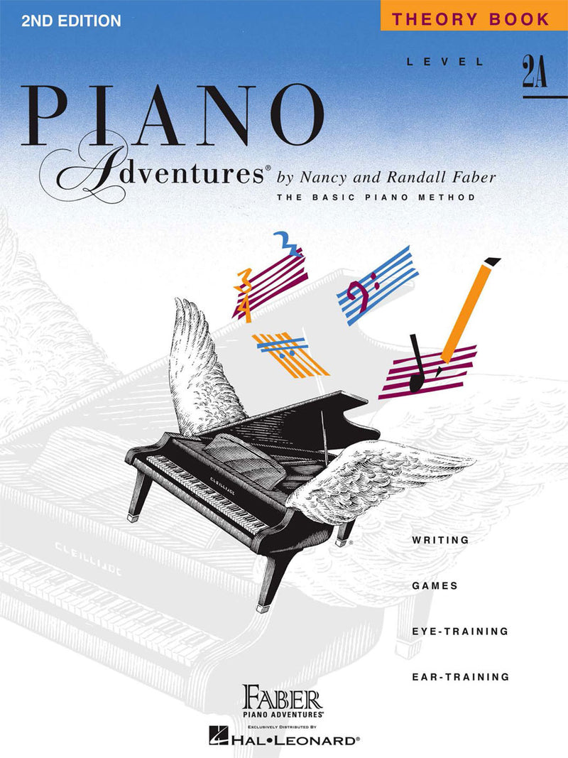Hal Leonard Faber Piano Adventures® Piano Adventures - Level 2A - Theory Book - 2nd Edition