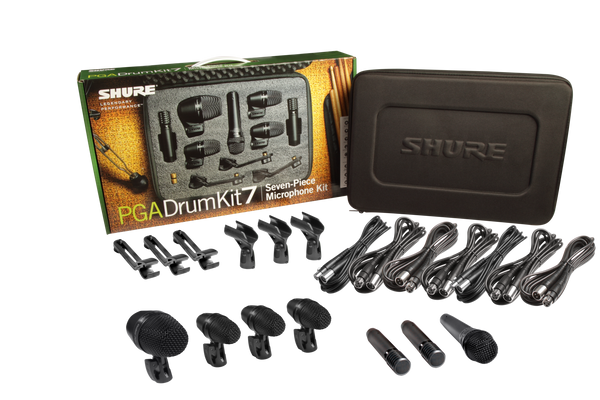 Shure 7 Pc Drumskit Microphone Set