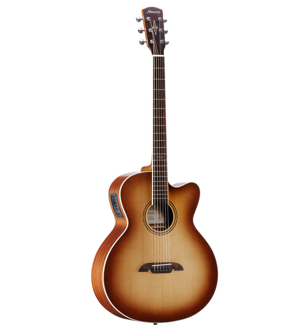 Alvarez Baritone Guitar w/ Cutaway & Pickup in Shadowburst