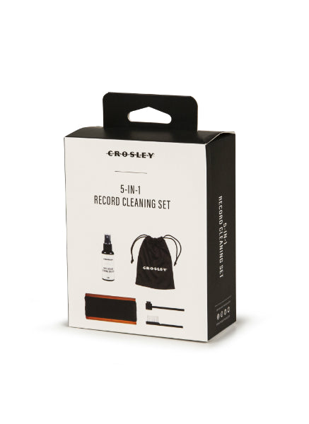 Crosley 5-in-1 Vinyl Deluxe Record Cleaning Set