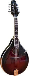 Alabama A-Style Arch-Top Mandolin, Red Sunburst