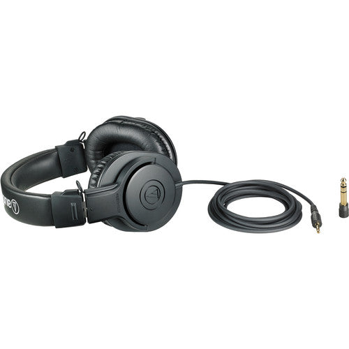 Audio-Technica ATH-M20x Professional Monitor Headphones (Black)