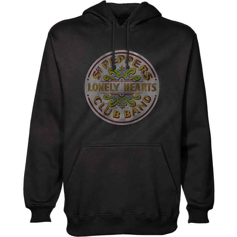 THE BEATLES UNISEX PULLOVER HOODIE: SGT PEPPER