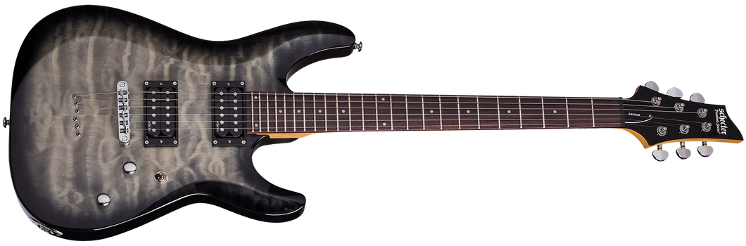 Schecter C-6 Plus Charcoal Burst