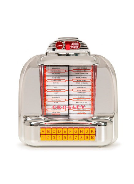Crosley Diner Jukebox Tabletop Radio -  Silver
