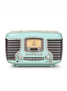 Crosley Corsair Radio with Bluetooth - Aqua Blue