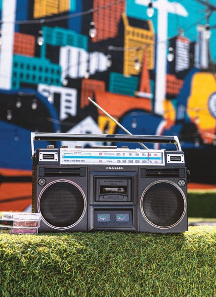 Crosley Cassette Player Radio - Black