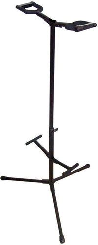 Profile Double Guitar Stand With Lock Arm