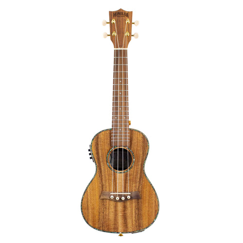Honolua Kohala Deluxe Concert Acoustic Electric Ukulele