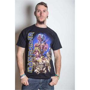 IRON MAIDEN UNISEX TEE: SOMEWHERE BACK IN TIME
