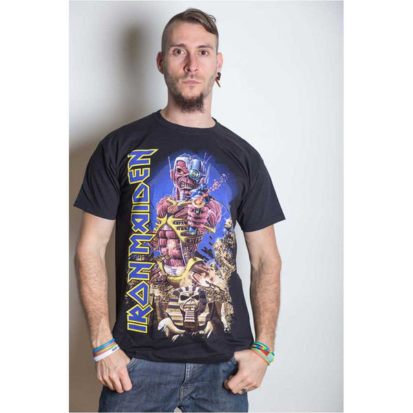 IRON MAIDEN UNISEX TEE: SOMEWHERE IN TIME