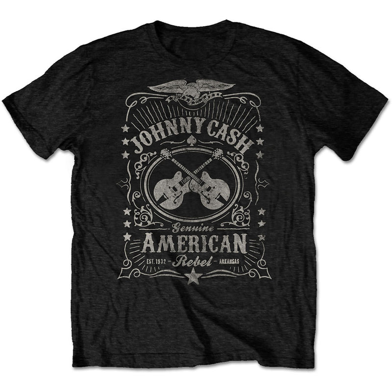 JOHNNY CASH UNISEX TEE: AMERICAN REBEL