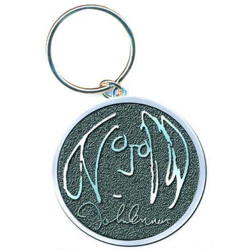 JOHN LENNON KEYCHAIN: SELF PORTRAIT (DIE-CAST RELIEF)