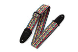 STRAP GUITAR LEVY'S 2″ 60's Hootenanny Jacquard Weave With Polypropylene Backing, M8HT
