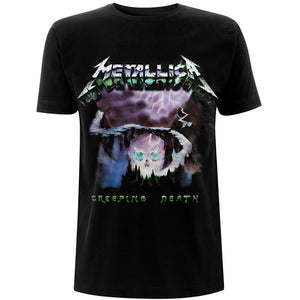 METALLICA UNISEX TEE: CREEPING DEATH