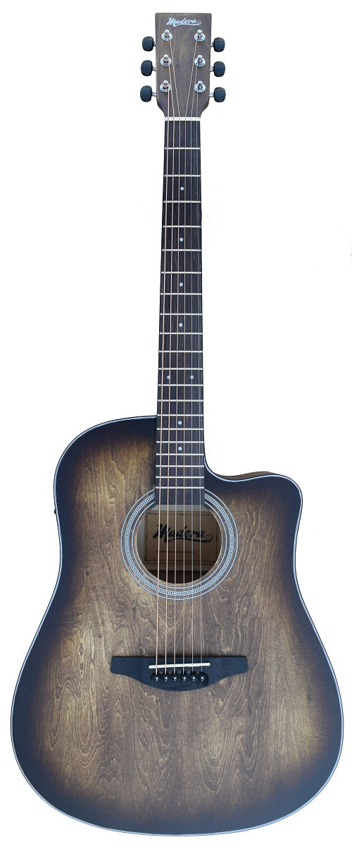 Madera Electric/Acoustic Guitar with Hand-Rubbed Finish