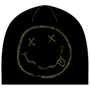 NIRVANA UNISEX BEANIE HAT: SMILEY