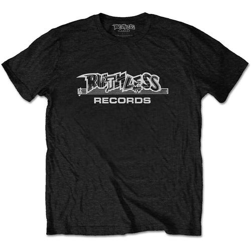 N.W.A UNISEX TEE: RUTHLESS RECORDS LOGO