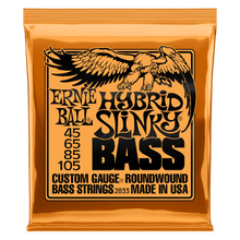 Ernie Ball Slinky Nickel Wound Bass Strings
