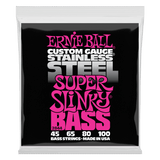 Ernie Ball Slinky Stainless Steel Bass Strings