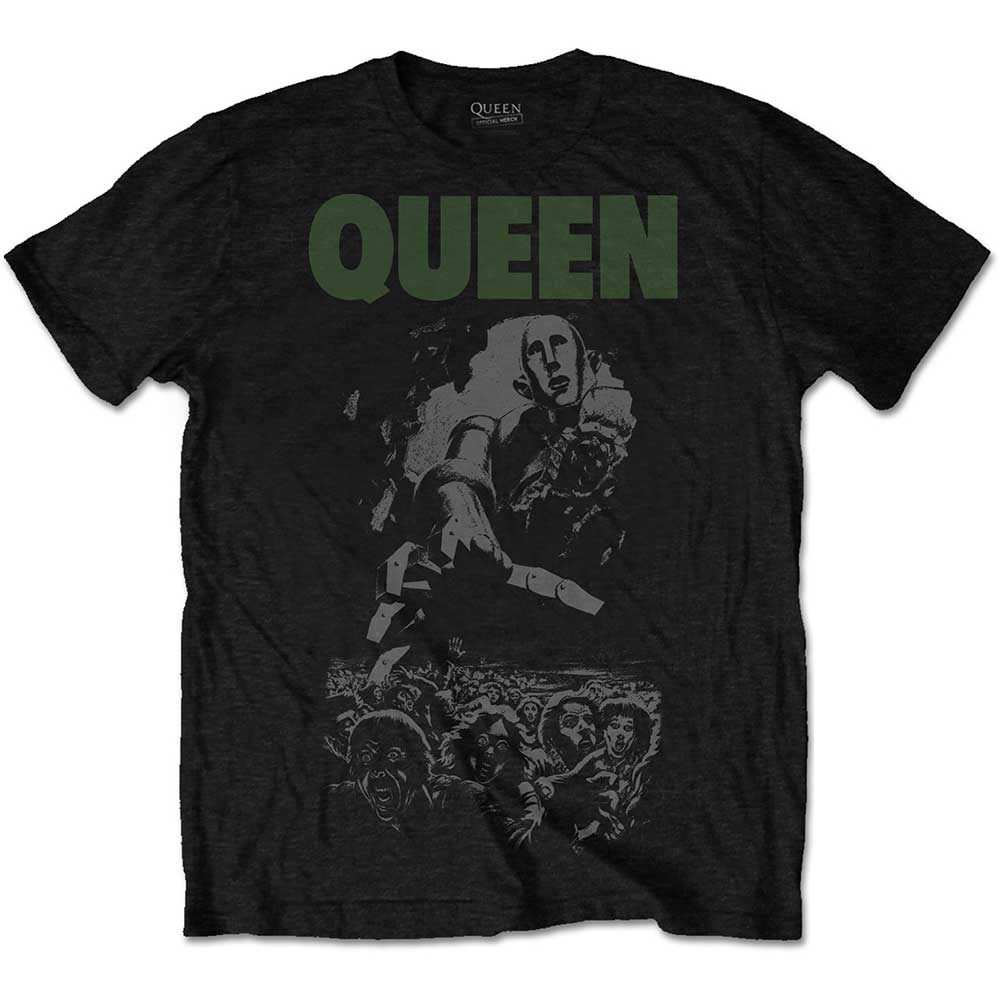 QUEEN UNISEX TEE: NEWS OF THE WORLD 40TH FULL COVER