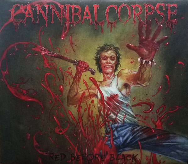 VINYL CANNIBAL CORPSE RED BEFORE BLACK