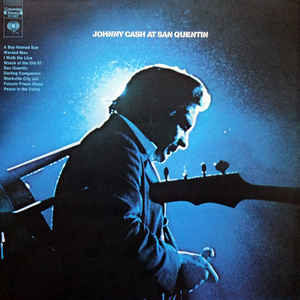 VINYL JOHNNY CASH LIVE AT SAN QUENTIN