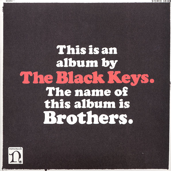 VINYL BLACK KEYS BROTHERS (2LP/BONUS CD)