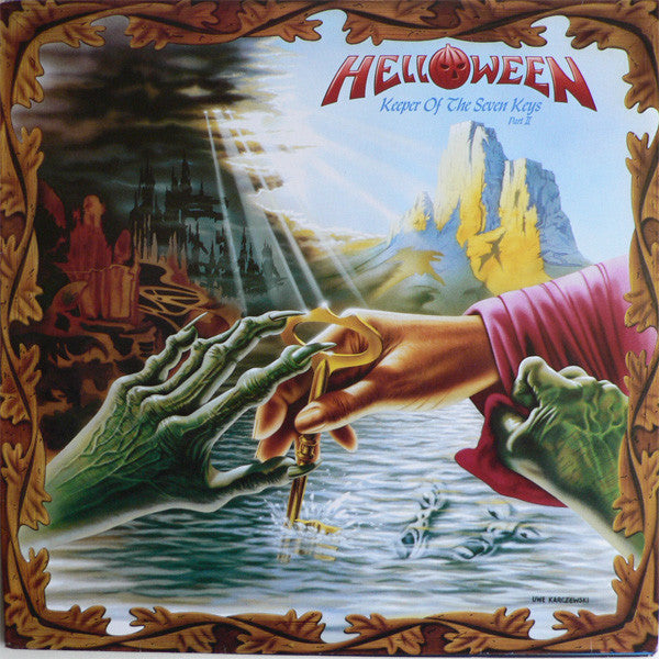 VINYL HELLOWEEN KEEPER OF THE SEVEN KEYS PART 2 (IMPORT)