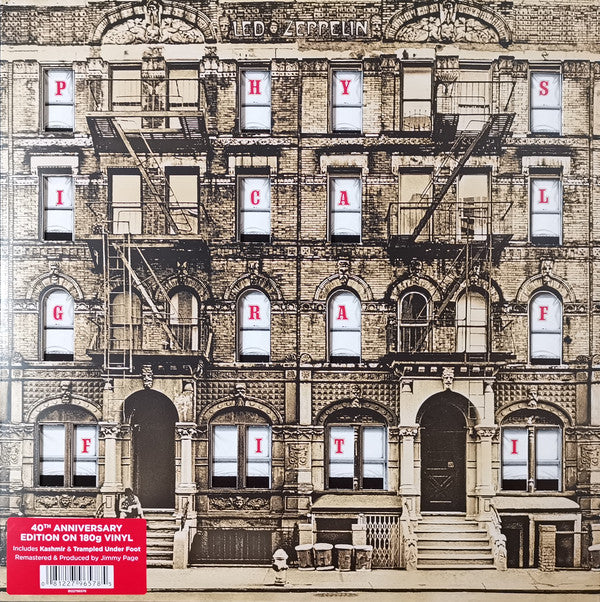 VINYL LED ZEPPELIN PHYSICAL GRAFFITI (2LP)