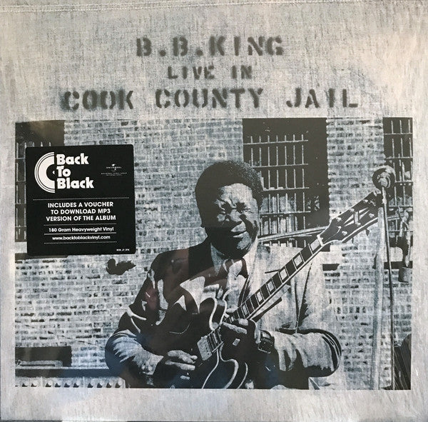 VINYL BB KING LIVE AT COOK COUNTY JAIL